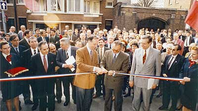 Inauguration ecosup Lille en 1991